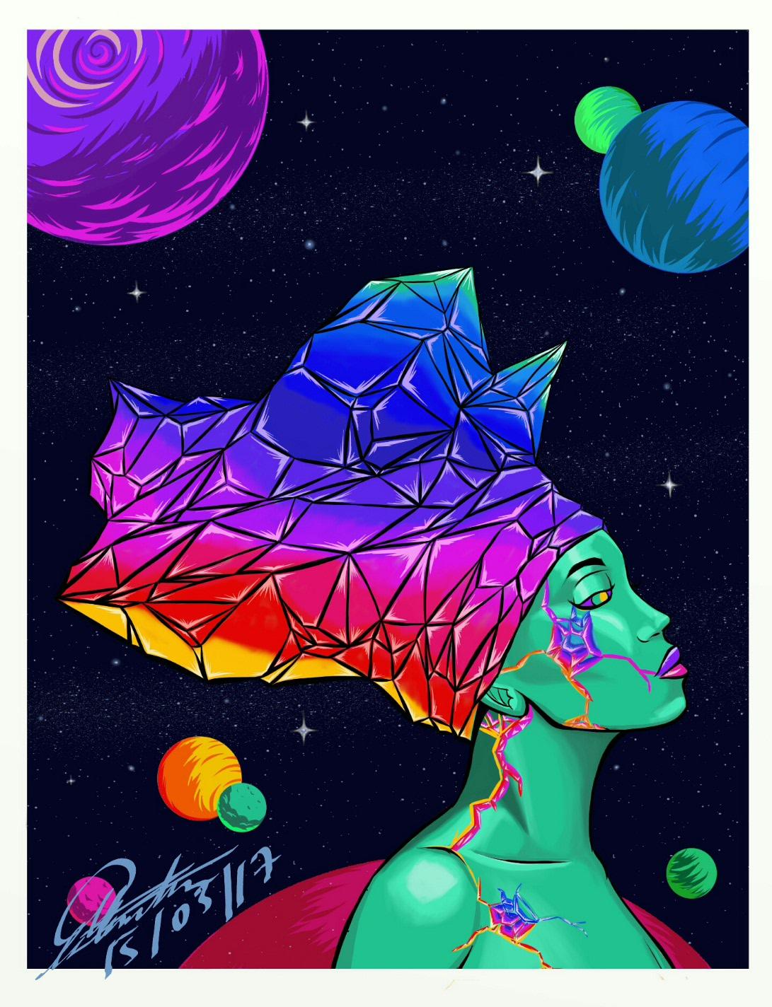 crystal cosmos